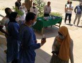 صور.. كواشف حرارية وكبائن تعقيم شرط دخول لجان امتحانات آثار القاهرة