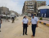 السكرتير العام لبورسعيد يقود حملة لرفع كفاءة محيط سوق الخضار والفاكهة.. صور