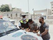 ضبط 586 مخالفة مرورية فى حملة موسعة بمحافظة أسوان