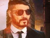 خالد النبوي يشكر أحد متابعيه بعدما رسمه فى صورة أحد أبطال مسلسل Peaky Blinders