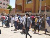 تعليم الأقصر: ضبط حالة غش وإصابة 11 طالبا وطالبة بإغماء وإعياء باللجان