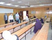 جامعة سوهاج تواصل امتحانات الفصل الدراسى الثانى للفرق النهائية