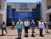 محافظ بورسعيد: سوق الأسماك الجديد طفرة حضارية للقضاء على العشوائيات