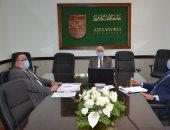 رئيس جامعة الإسكندرية يتابع انتظام الامتحانات ويؤكد: لا شكاوى حتى الآن