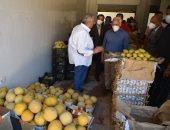محافظ بورسعيد: سوق الخضروات والفاكهة الجديد أول مجمع غذائى فى مصر