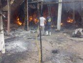 كيف تأثر الباعة من حريق سوق توشكى؟