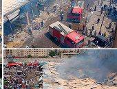 رئيس حى حلوان: إعادة رفع كفاءة سوق توشكى
