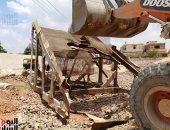 صور.. حصاد الموجة الـ16 لإزالة التعديات على أراضى الدولة بالمحافظات