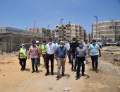 محافظ بورسعيد: الميناء البرى بحى الضواحى واجهة حضارية أمام الزائرين
