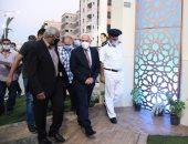 محافظ بورسعيد يفتتح ميدان الشهيد هشام عباس