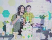 همام طارق يحتفل بعيد ميلاد ابنه: ربنا يحميك وأشوفك أسعد إنسان يا أسدى الصغير