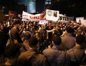 فيديو.. اشتباكات بين يهود متشددين والشرطة فى مظاهرات ضد الإغلاق بسبب كورونا
