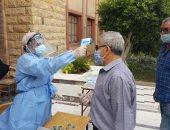 السكرتير العام لمحافظة بورسعيد يتابع تطبيق الإجراءات الوقائية بلجان الثانوية
