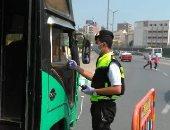 أمن أسوان يرصد 285 مخالفة مرورية وضبط سائق لتعاطى المخدرات