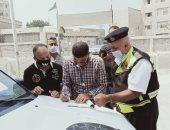 تحرير 1169 مخالفة متنوعة خلال حملة مرورية بالإسماعيلية