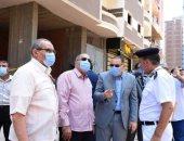 محافظ الشرقية يقود حملة لإزالة الأبراج المخالفة بمنطقة الغشام