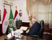 سفير العراق بالقاهرة يبحث آليات التعاون العلمي مع وزير التعليم العالى