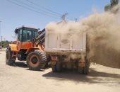 رفع 89 طنا من المخلفات الصلبة فى حملات نظافة بمدينة الطود