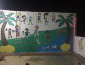 مبادرة شبابية لتجديد أسطح المنازل بالمنصورة وتعليم الأطفال التلوين والرسم