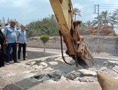 صور.. إزالة 148 حالة الأراضى الزراعية وأملاك الدولة بمراكز ومدن الدقهلية
