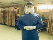"""الجيش الأبيض.. """"محمد"""" أخصائى تكنولوجيا المختبرات الطبية بمستشفى الحسين"""