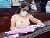نائبا رئيس جامعة القاهرة يتفقدان سير الامتحانات بكلية العلوم