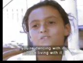 بشرى تنشر فيديو نادر من طفولتها تتحدث فيه عن أم كلثوم فى فيلم تسجيلى عالمى