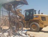 إزالة 120 حالة تعدٍ على مساحة 80 فدانا بجمعية العاشر من رمضان بالإسماعيلية