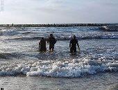 """غريق جديد فى """"النخيل"""" بالإسكندرية رغم إغلاق الشاطئ"""