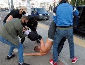 اعتقالات ومظاهرات فى روسيا البيضاء لرفض تسجيل منافسى الرئيس بالانتخابات.. صور