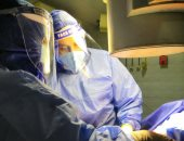 """""""عزل قنا"""" ينجح فى إجراء عملية جراحية لمسن مصاب بفيروس كورونا.. صور"""