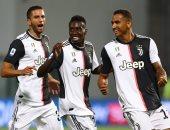 يوفنتوس يتفوق على ساسولو 2 - 1 فى الشوط الأول بالدوري الإيطالي.. فيديو