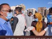 محافظ الإسكندرية: إنشاء سور على شاطئ النخيل بطول 1800 متر