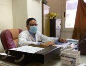 مدير مستشفى القناطر الخيرية المركزى يعلن تعافيه من كورونا