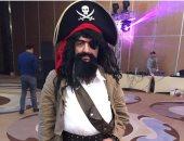 شريف مدكور على طريقة pirates of the caribbean فى أحدث ظهور له .. صورة
