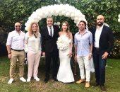 صور.. المخرج شادى على يحتفل بزفافه بحضور هشام ماجد