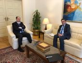 مساعد الأمين العام للجامعة العربية يلتقى ممثل مجلس سوريا الديمقراطية