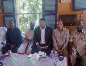 """ندوة للتوعية بـ""""كورونا"""" في قرية بلانة بنصر النوبة.. صور"""