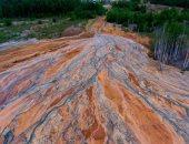 """روسيا تحقق فى ظهور """"الأنهار البرتقالية"""" بمنجم الأورال المهجور"""