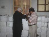 محلية بنى سويف: توزيع 1135 كرتونة سلع غذائية على العاملين الأكثر احتياجا