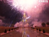 شاهد كواليس إطلاق الألعاب النارية فى برج إيفل أثناء احتفالات يوم الباستيل