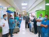 مستشفى إسنا للحجر الصحى تعلن شفاء 28 حالة من فيروس كورونا.. صور