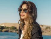 """نجلاء بدر تكشف عن مراحل تغير شكلها فى مسلسل """"لازم أعيش"""".. فيديو"""