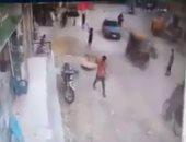 بسبب طيارة ورق.. لحظة سقوط طفل بالشرقية داخل بيارة صرف صحى.. صور وفيديو