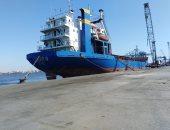 شحن 3500 طن صودا كاوية وتدوال 23 سفينة بموانئ بورسعيد
