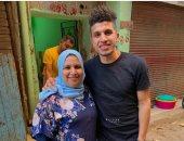 قصة صور.. محمد عبد الغنى صخرة دفاعية جديدة فى ميت عقبة
