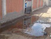 صور.. اضبط مخالفة.. مدرسة بنى عبس بالشرقية تغرق فى المياه بسبب مروى مجاور لها