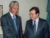 """جوتيريس يستعيد ذكرياته بصورة مع نيلسون مانديلا: """"مصدر إلهام للعدالة"""""""