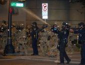 اشتباكات بين الشرطة ومتظاهرين فى بورتلاند الأمريكية بعد حملة اعتقالات