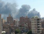 السيطرة على حريق مخلفات بمنطقة الزرايب فى البراجيل دون إصابات
